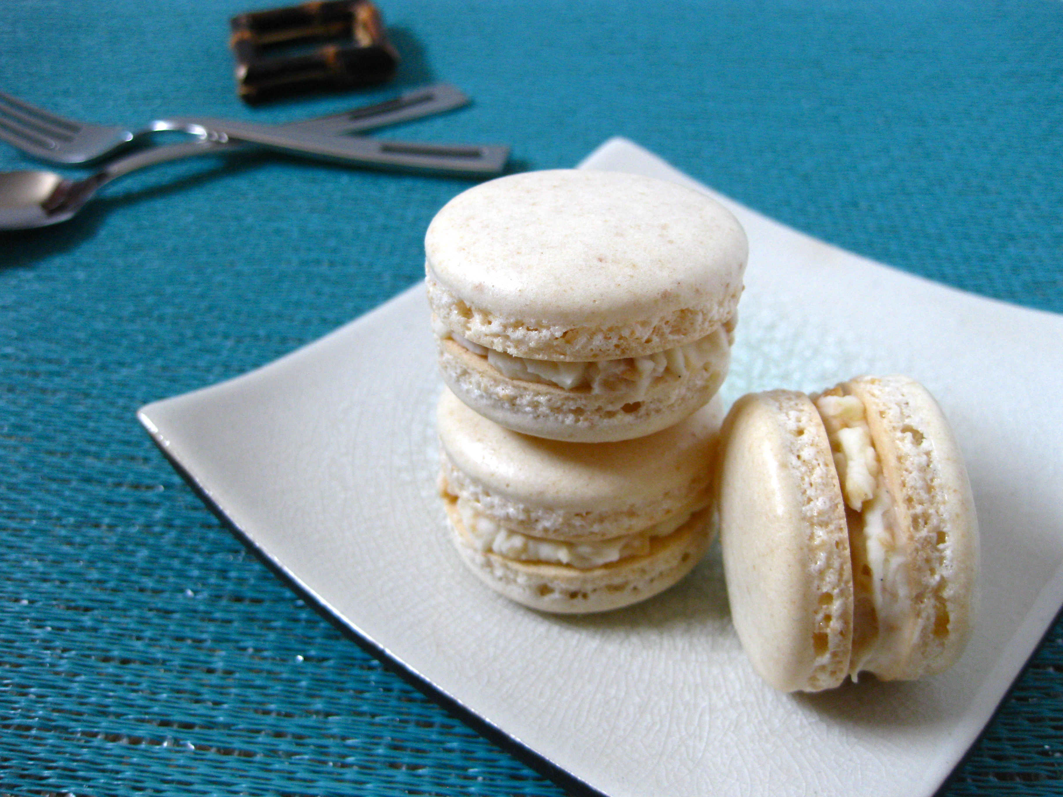 Sans Rival Macaron with Cashew Nut Buttercream | Mac Lab